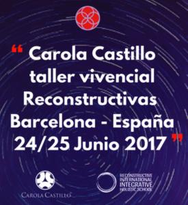 Taller Vivencial de Reconstructivas® con Carola Castillo