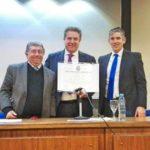 Joan Antoni Melé Doctor Honoris Causa por la Universidad Champagnat