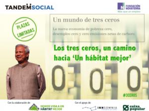 Un mundo de tres ceros, con Muhammad Yunus @ INNSOMNIA | Valencia | España