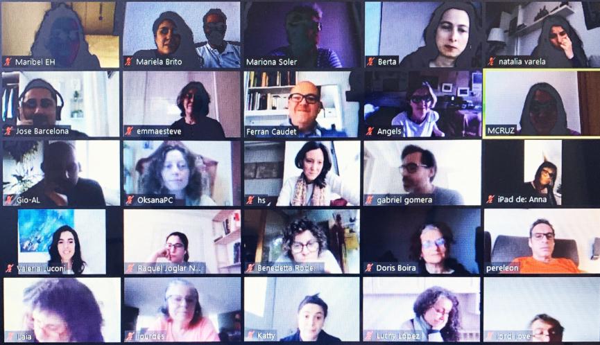 Encuentros online Hábitat Humano