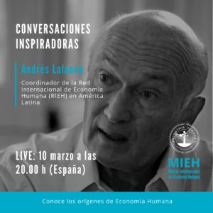 (LIVE) Conversaciones inspiradoras con Andrés Lalanne @ LIVE Instagram