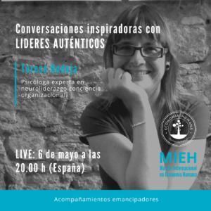 (LIVE) Conversaciones inspiradoras con Lideres Auténticos @ Evento Online